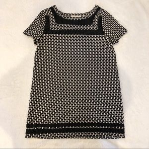 Postmark Anthropologie   Patterned Tunic Top Sz S